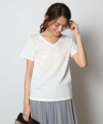 SCOTCLUB/Vin(ヴァン) VネックテープロゴTシャツ/502400247