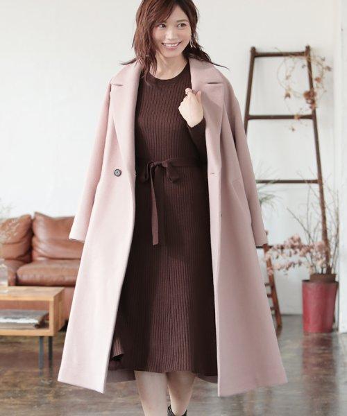 PROPORTION BODY DRESSING(プロポーション ボディドレッシング)/|CanCam 11月号掲載|Wモッサ チェスターコート◆/1219252004