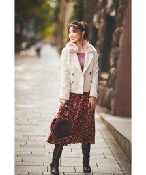 PROPORTION BODY DRESSING/|CanCam 11月号掲載|エコファー襟付きPコート◆/502420475