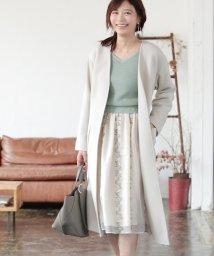 PROPORTION BODY DRESSING/|CanCam 11月号掲載|Vカラーガウンコート◆/502423138