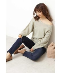 PROPORTION BODY DRESSING/◆《EDIT COLOGNE》アイレットレースニット/502423148