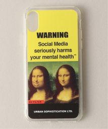 JOURNAL STANDARD/URBAN SOPHSTICATION GRAPHIC WARNING IPHONE CASE/502423319