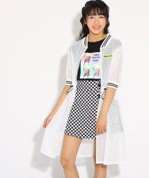 PINK-latte/メッシュブルゾン&転写Tシャツ セット/502424764