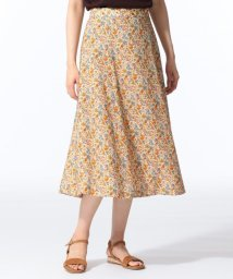 J.PRESS LADIES(LARGE SIZE)/【セットアップ対応】LIBERTY CHESTNUTS プリント スカート/502425294
