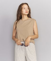 BEAUTY&YOUTH UNITED ARROWS/BY∴ クリアコットンノースリーブカットソー/502012737