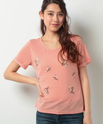 FINE OUTLET/【Green Parks】・RAY 花刺繍Tシャツ/502391220
