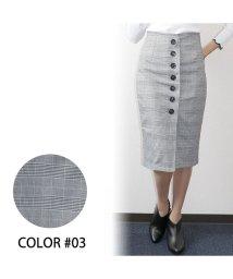 OWNCODE/グレンチェックハイウエストスカート M #4/502402251