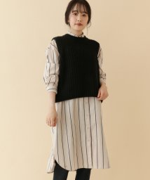 URBAN RESEARCH OUTLET/【ITEMS】ストライプビッグシャツワンピース/502403893