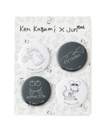 JUNRed/【Ken Kagami × JUNRed】コラボ缶バッチ4個SET/502408934