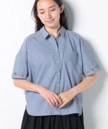 axes femme/ポケット付オーバーシャツ/502409966
