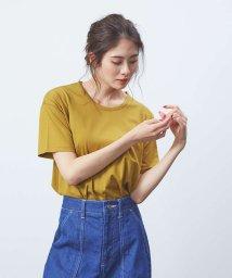 qualite/スーピマコットンベーシックTシャツ/502425261