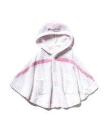gelato pique Kids&Baby/【BABY】'スムーズィー'5ボーダー baby ポンチョ/502426494