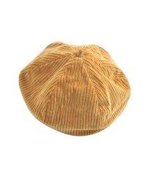 cream dot/シーズンムードを高める、太コーデュロイのベレー帽/502427271