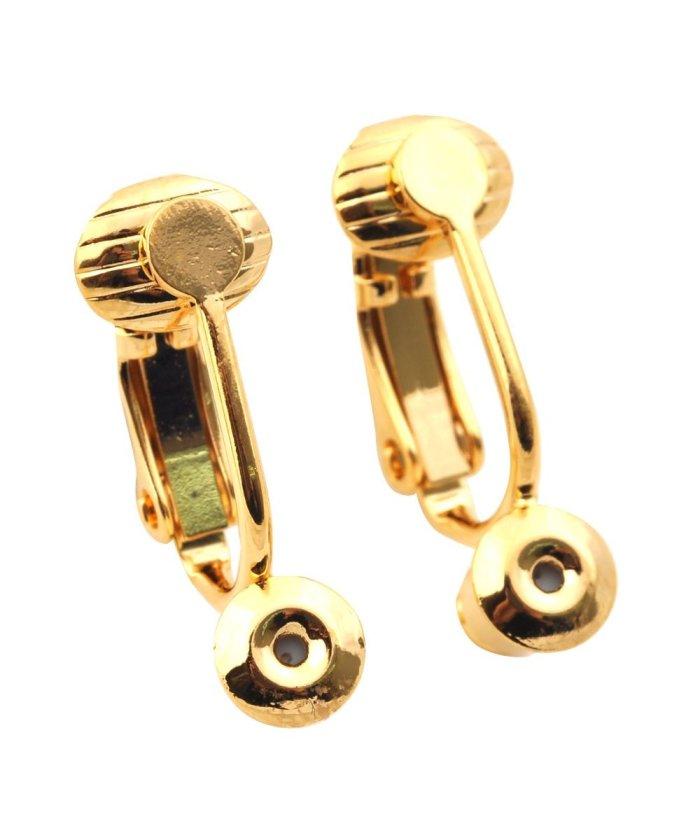 クリームドット ピアスがイヤリングに早変わり「イヤリングコンバーター」 レディース ゴールド系2 ワンサイズ 【cream dot】