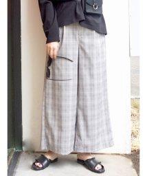MERCURYDUO/ベルト切替タックパンツ/502378979