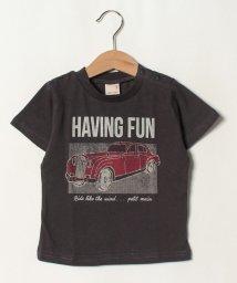 petit main/ボックス車Tシャツ/502413548