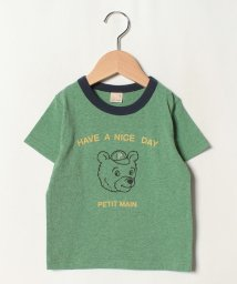 petit main/古着風くまTシャツ/502413549
