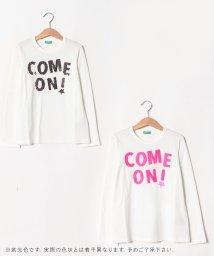 BENETTON (UNITED COLORS OF BENETTON GIRLS)/リバーシブルスパンコールTシャツ・カットソー/502417737
