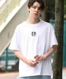 JUNRed/【ビッグシルエット】フォトグラフィックTシャツ/502420509