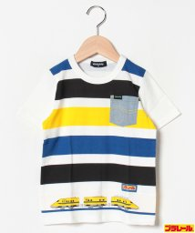 kladskap/プラレールコラボ ボーダープリントTシャツ/502423652