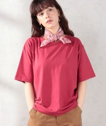 MELROSE Claire/20/コットン天竺バンダナ付きTシャツ/502428307