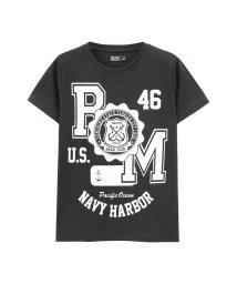 MAC HOUSE(kid's)/RUSH HOUR ラッシュアワー ボーイズ プリントTシャツ MH/RHBOY04/502430096