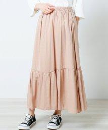 framesRayCassin/ポリ麻ティアードスカート/502430489