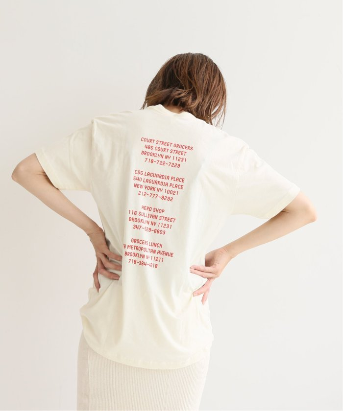 COURT STREET GROCERS CSG Tシャツ◆
