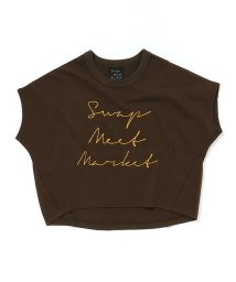 SWAP MEET MARKET/30/-ロゴPT フレンチスリーブTシャツ/502431037
