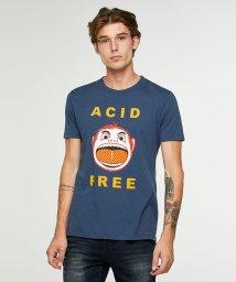 SISLEY/シルクタッチプリント半袖Tシャツ・カットソー/502404270