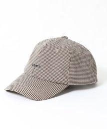 coen/ガンクラブチェックcoenロゴキャップ/502426128