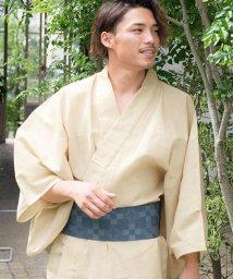 Dita/しじら織り紳士浴衣3点セット (浴衣 + 帯 + 下駄 ) /502431230