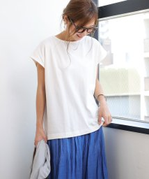 and Me.../コットンフレンチスリーブ半袖Tシャツ/502432723