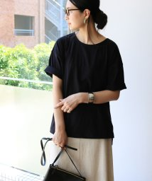 and Me.../コットンオーバーサイズ半袖Tシャツ/502432724