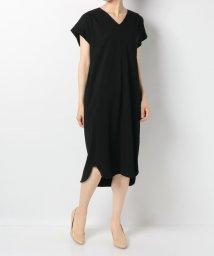 en recre/Special price【MyLanKa】Vネック半袖ワンピース/502410242
