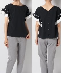 en recre/Special price【Nouque(ヌーク)】袖フリルブラウス/502410248