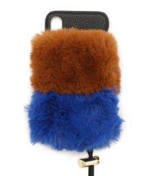 RoyalFlash/A SCENE/エーシーン/ 2-layer fur case(iphoneX/Xsサイズ)/502436158