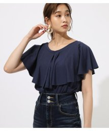 AZUL by moussy/CAPE SHOULDER TOPS/502436273