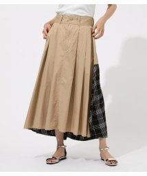 AZUL by moussy/Check Asymmetry Flare SK/502436275