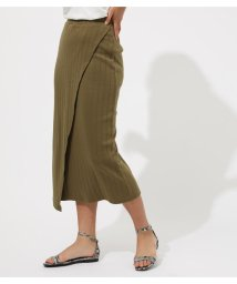 AZUL by moussy/WRAP MAXI SKIRT/502436276