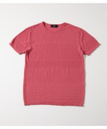 AZUL by moussy/HIGH TWIST COTTON KNIT TOPS/502436278
