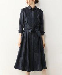 NOBLE/【ALANI the grey】 ウエストストラップシャツドレス/502437383