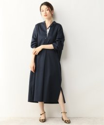 NOBLE/【ALANI the grey】ダブルタックシャツドレス/502437386