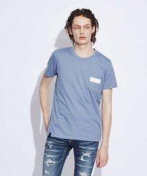 5351POURLESHOMMES/【ワンラインポケット】クルーネックTシャツ/502437831