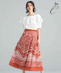 JIYU-KU /【Class Lounge】SARASAプリントスカート/502437853