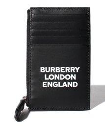 BURBERRY/【BURBERRY】Logo print ジップカードケース/502423676