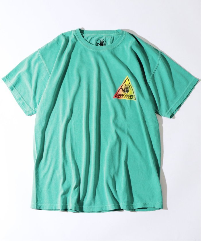 BODY GLOVE×relume / 別注ボディグローブ TRIANGLE ONEPOINT Tシャツ