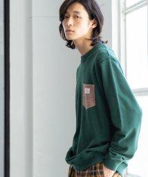 coen/【女性にもオススメ】SMITH別注ポケットスウェットクルーネック19FW(一部WEB限定カラー)/502439594