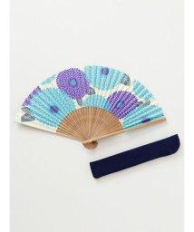 KAYA/【カヤ】和の香り 菊紙扇子 袋付き 7HJP9203/502440219