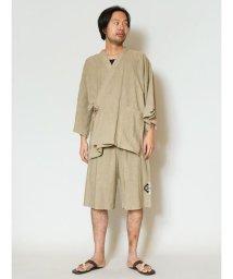 CAYHANE/【チャイハネ】オルテガ柄刺繍メンズ甚平 IDS-9215/502440348